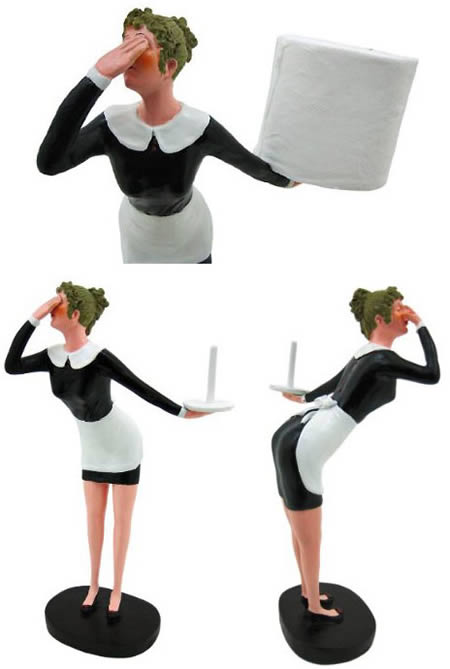 Natashaz Words 10 Most Funny Toilet Paper Holders - Icarta-ipod-dock-and-toilet-roll-dispenser