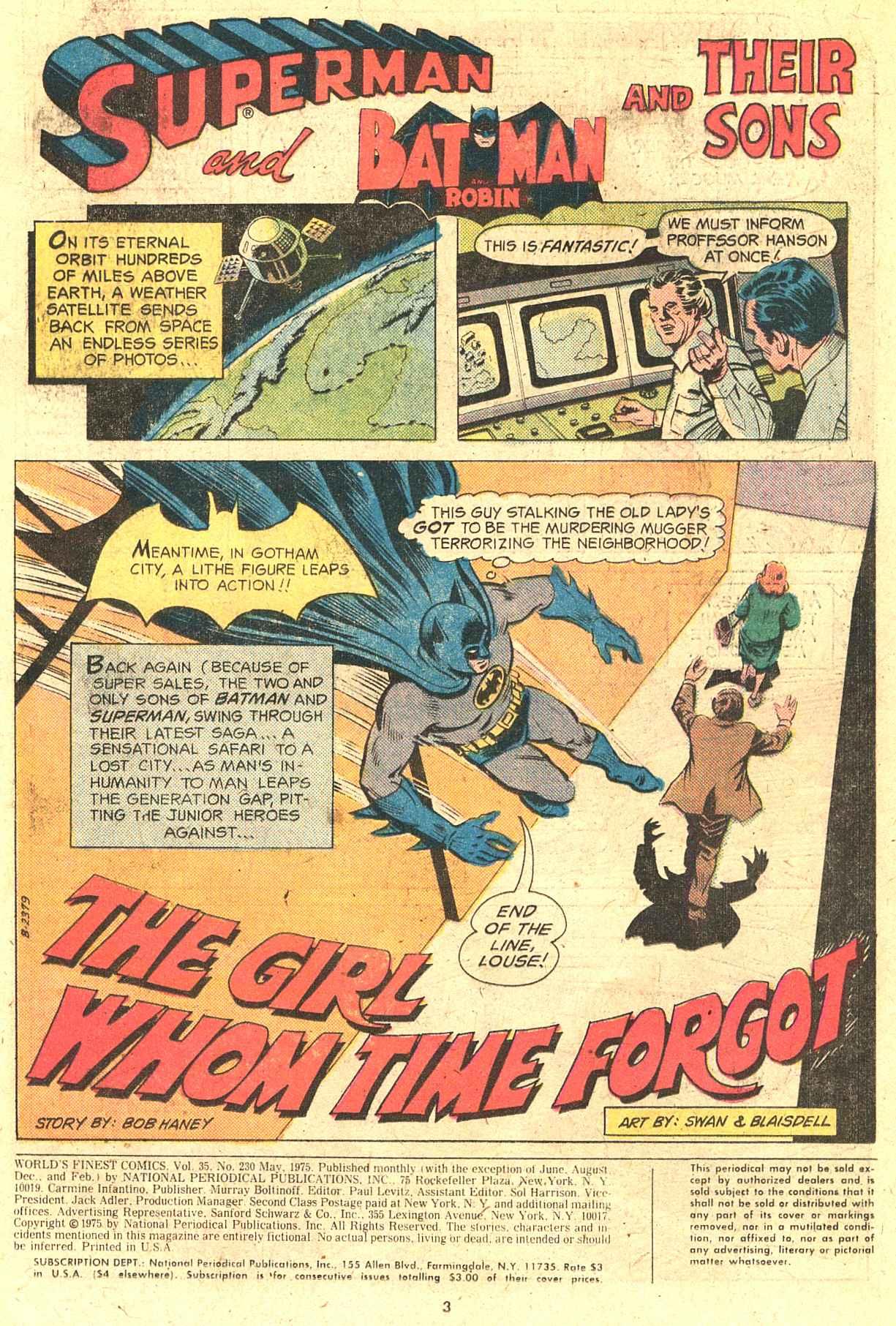 Read online World's Finest Comics comic -  Issue #230 - 3