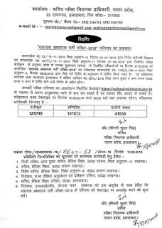 shikshak bharti exam result