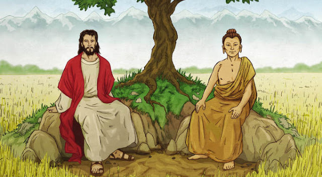 Buddha and Jesus as Brothers