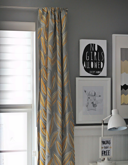 FEARFULLY & WONDERFULLY MADE: The Boys' Room WIndow:  Addressing the Struggle Between Natural Light and Privacy