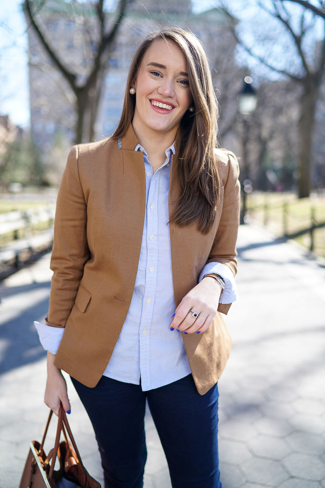 Krista Robertson, Covering the Bases,Travel Blog, NYC Blog, Preppy Blog, Style, Fashion Blog, Travel, Fashion, Style, Must Have Designer Items, Classic Fashion Pieces, Chanel Flats, Chanel, J. Crew, Blazers, Spring Style, Spring Fashion, Preppy Looks