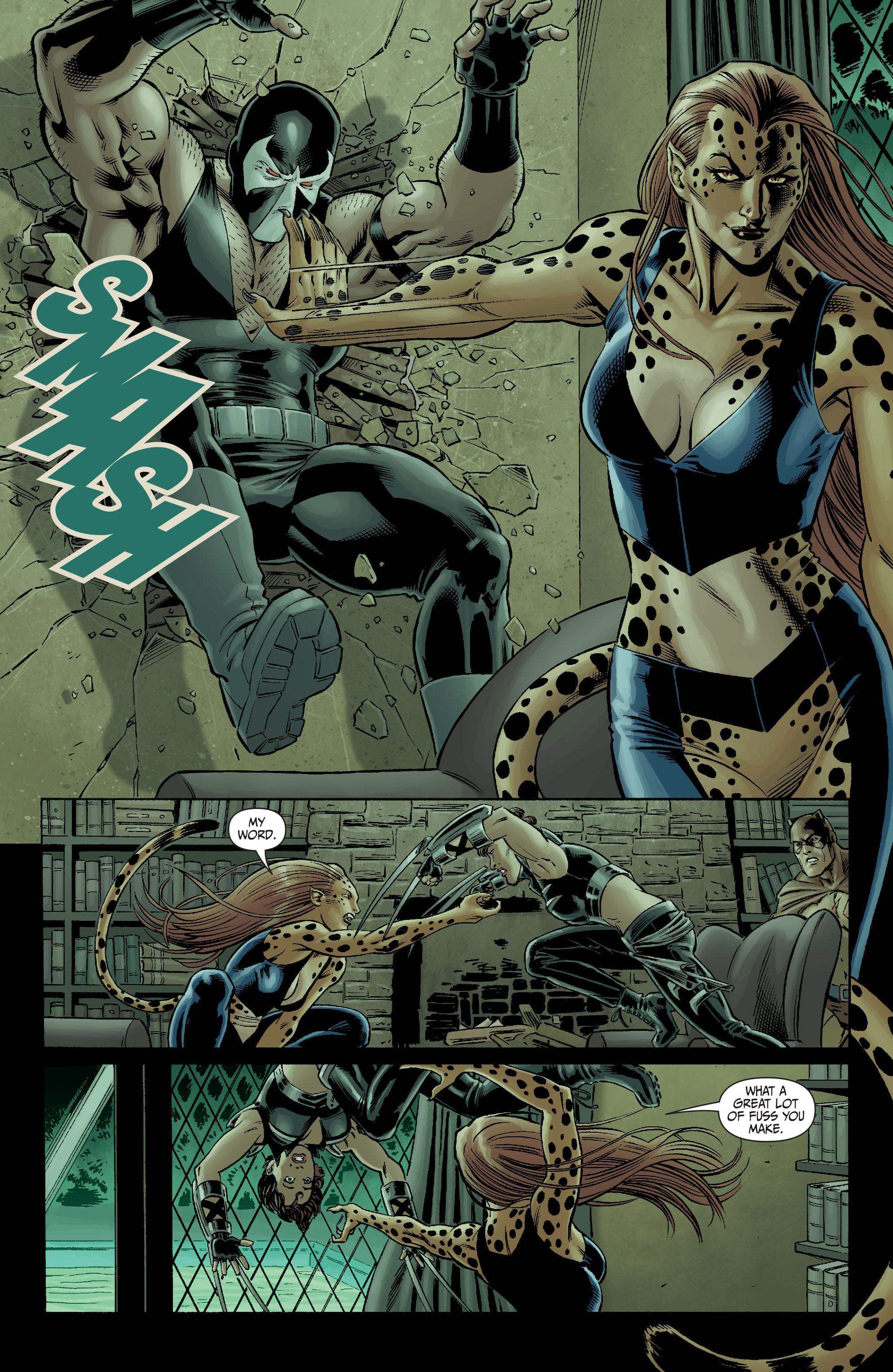 Read online Secret Six (2008) comic -  Issue #3 - 17