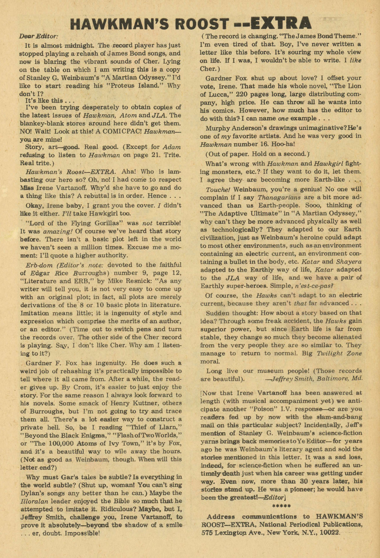 Hawkman (1964) issue 20 - Page 30