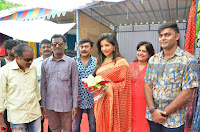Sakshi Agarwal  in Orange Saree at Inauguration of Handloom And Handicraft exhibition ~  Exclusive 34.JPG