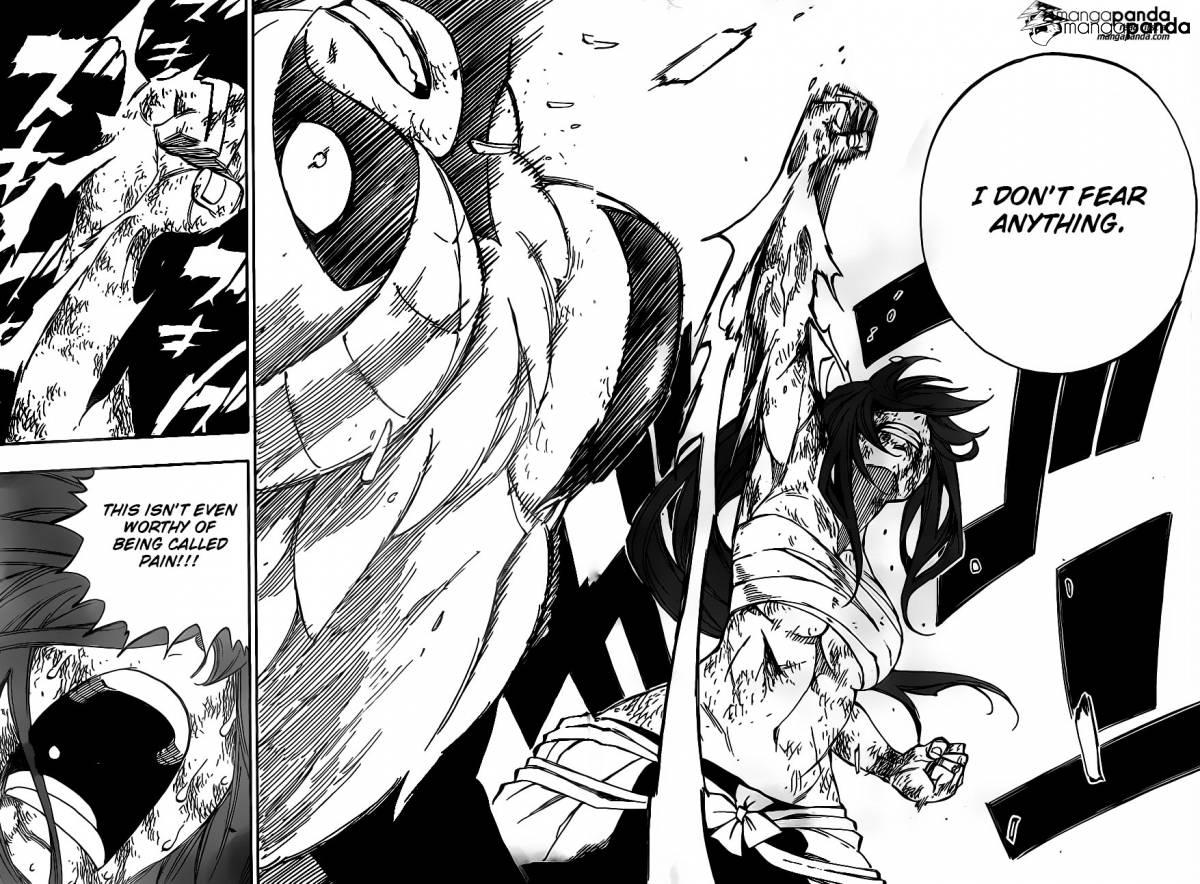 Fairy Tail Ch 403: Erza vs Kyouka