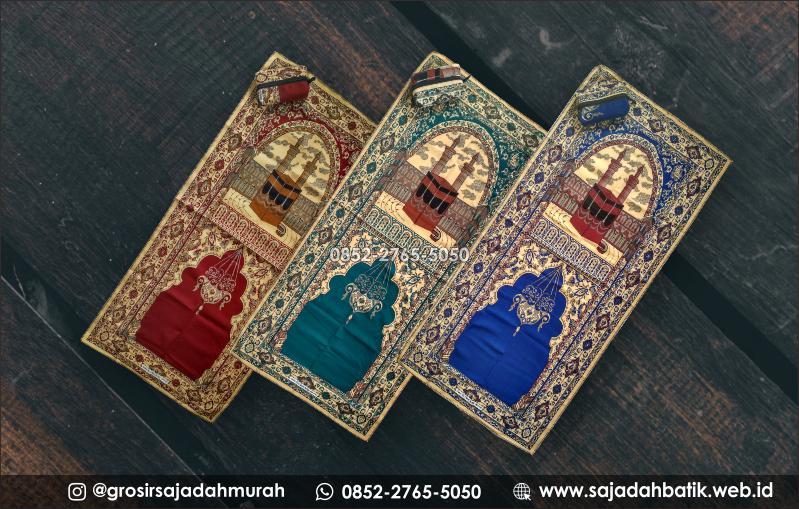 sajadah batik motif zahra, jual sajadah batik, 0852-2765-5050