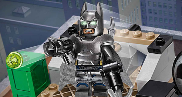 Armadura Batman V SUperman en LEgo