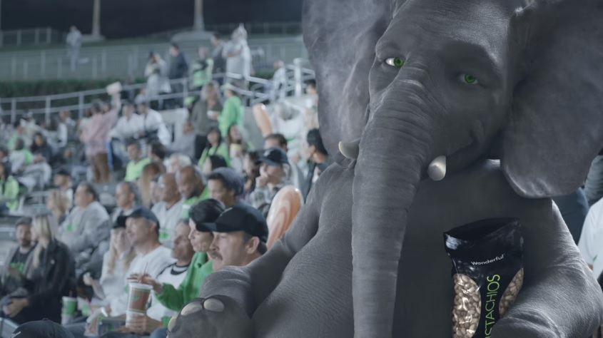 Wonderful Pistachios Get Crackin Ads With Ernie The Elephant