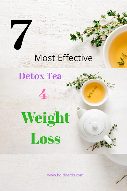 Efective Detox Teas for Weight Loss