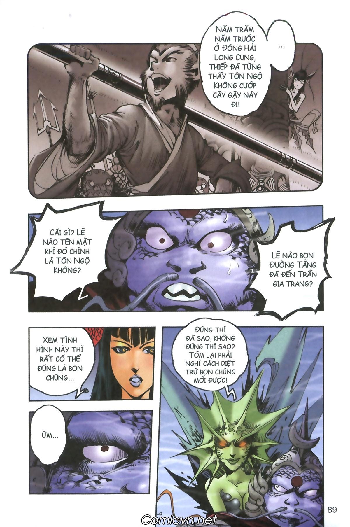 Tây Du Ký màu - Chapter 93 - Pic 26