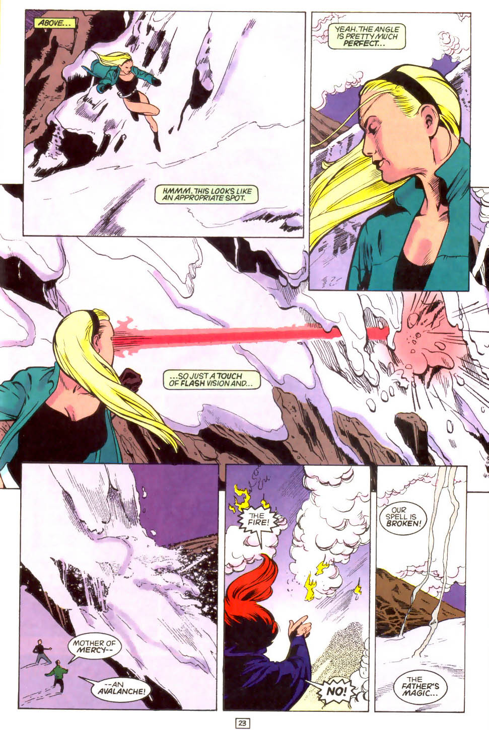 Legion of Super-Heroes (1989) 46 Page 23
