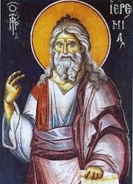 Αποτέλεσμα εικόνας για ιερεμιας προφητης