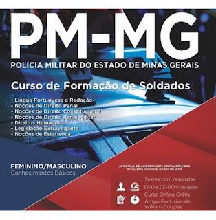 Curso de Formação de Oficiais Policia de Minas Gerais