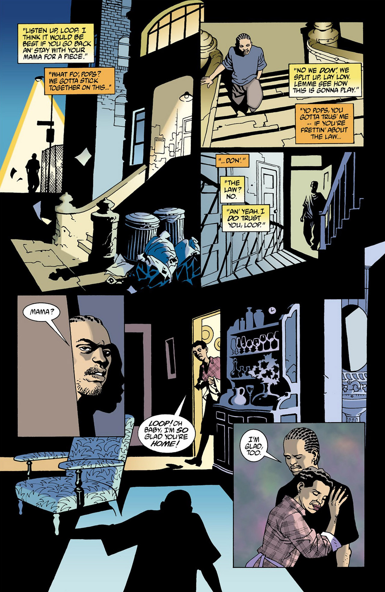 Read online 100 Bullets comic -  Issue #16 - 20