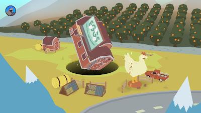 Donut County Game Screenshot 1