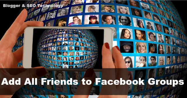 how to add all facebook friends to group at once 2017