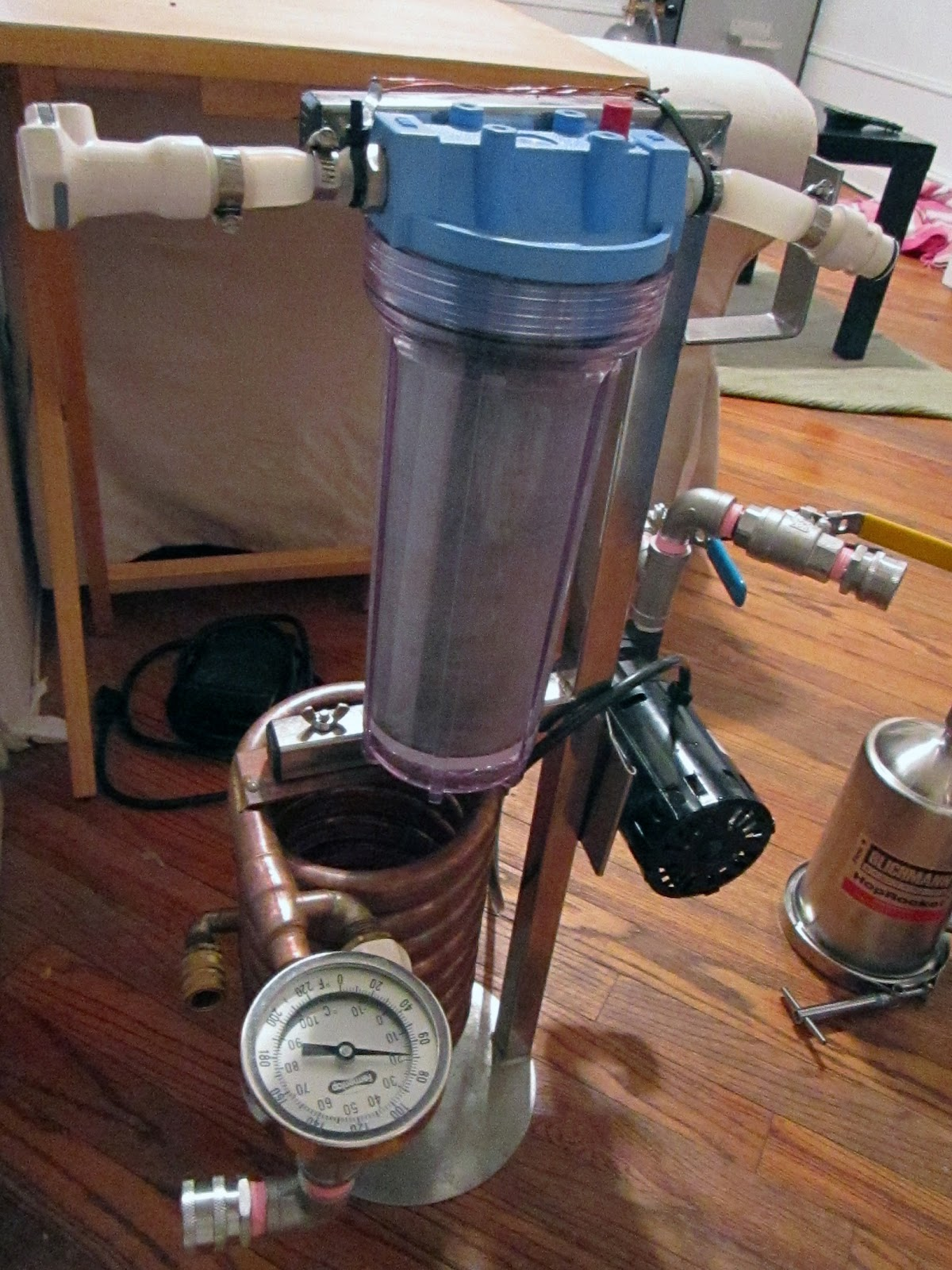 10 Gallon All Grain Apartment Brewery Session Beer Brewing