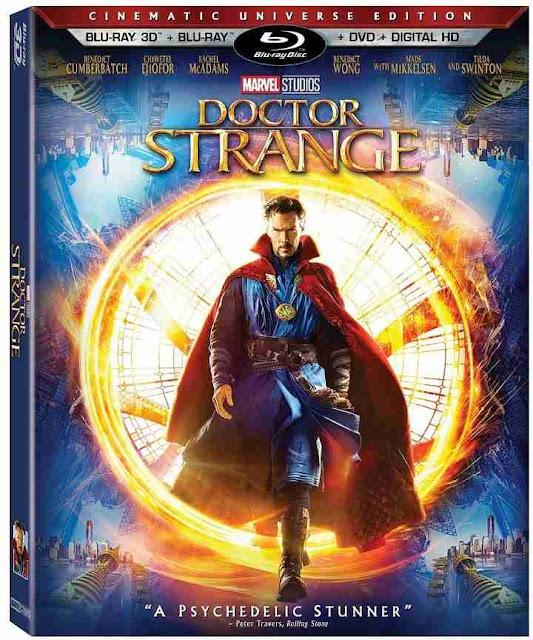 Todos los extras del Blu-ray de Doctor Strange