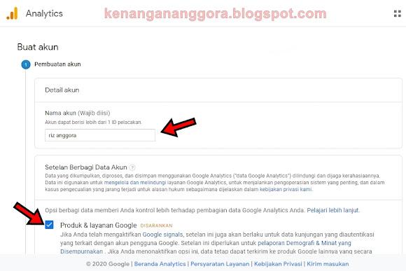 Cara Memasang Google Analytics Di Website Wordpress Dengan Mudah