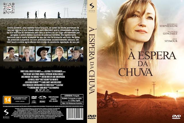 Capa DVD À Espera da Chuva [Custom]