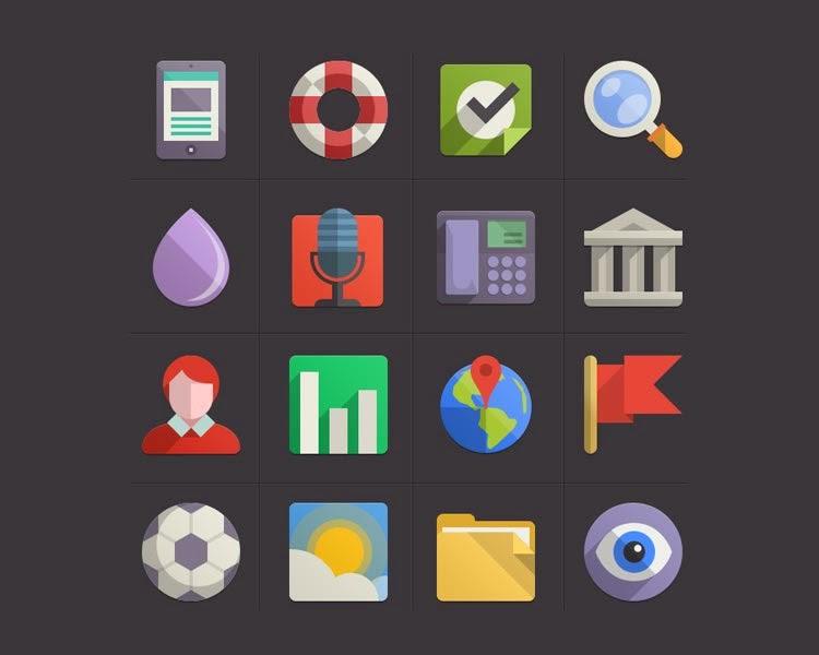 Flat design Icon Set vol.4