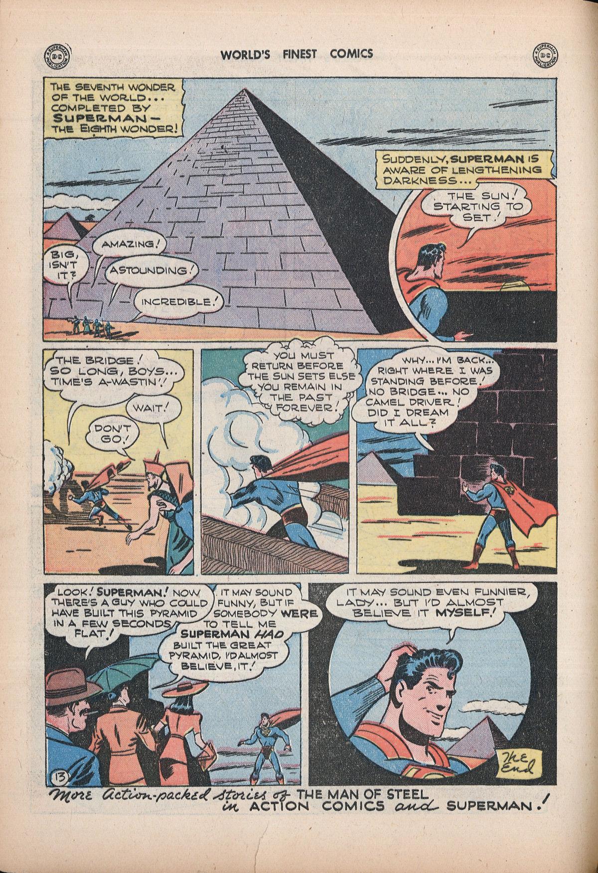 Read online World's Finest Comics comic -  Issue #32 - 72