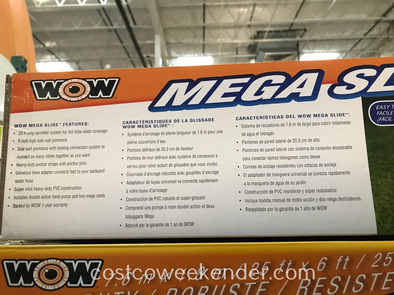 Costco 2001101 - Wow Mega Water Slide: great to cool off during hot, summer afternoons