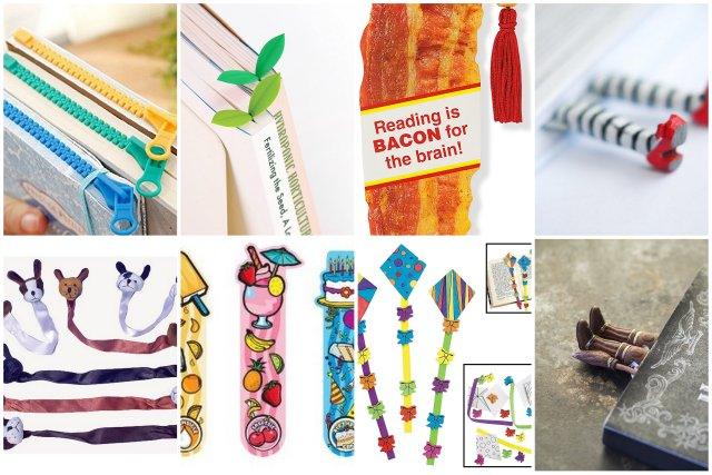 neat and different bookmark gifts for readers