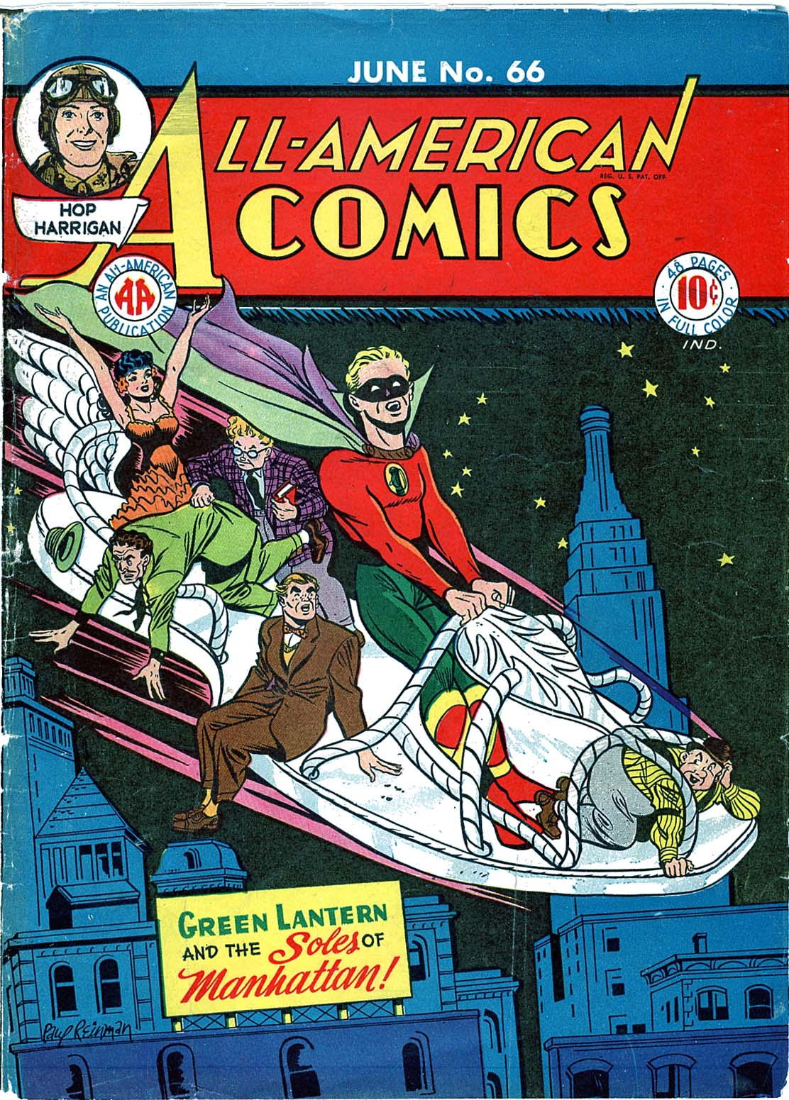 Read online All-American Comics (1939) comic -  Issue #66 - 1