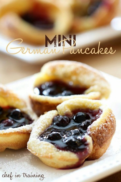 Mini German Pancakes. Foto: chef-in-training.com