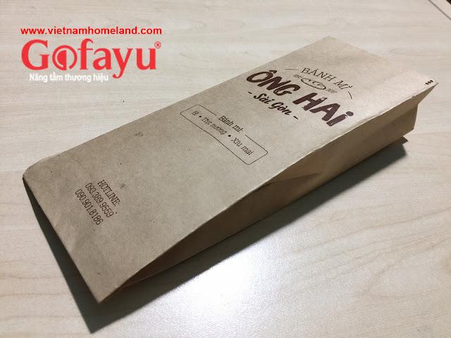 Chuyên in túi bánh mì đẹp, giá rẻ, thiết kế mẫu miễn phí