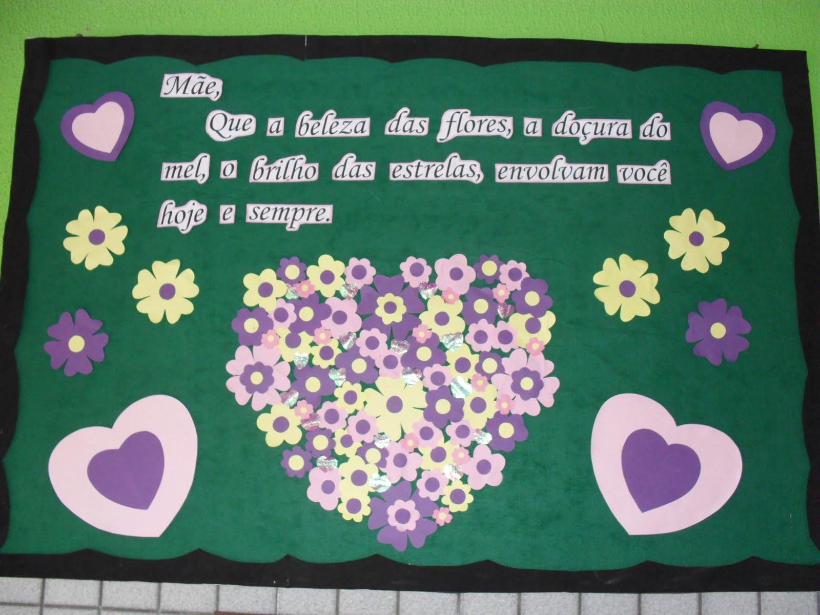 Imagens Bíblicas Para O Dia Das Mães: PROFESSORA DANY Educação Infantil: Idéias De Murais Para O