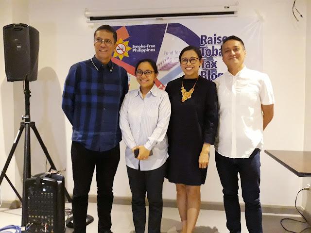 Buwis Para sa Buhay Raise Tobacco Tax for UHC