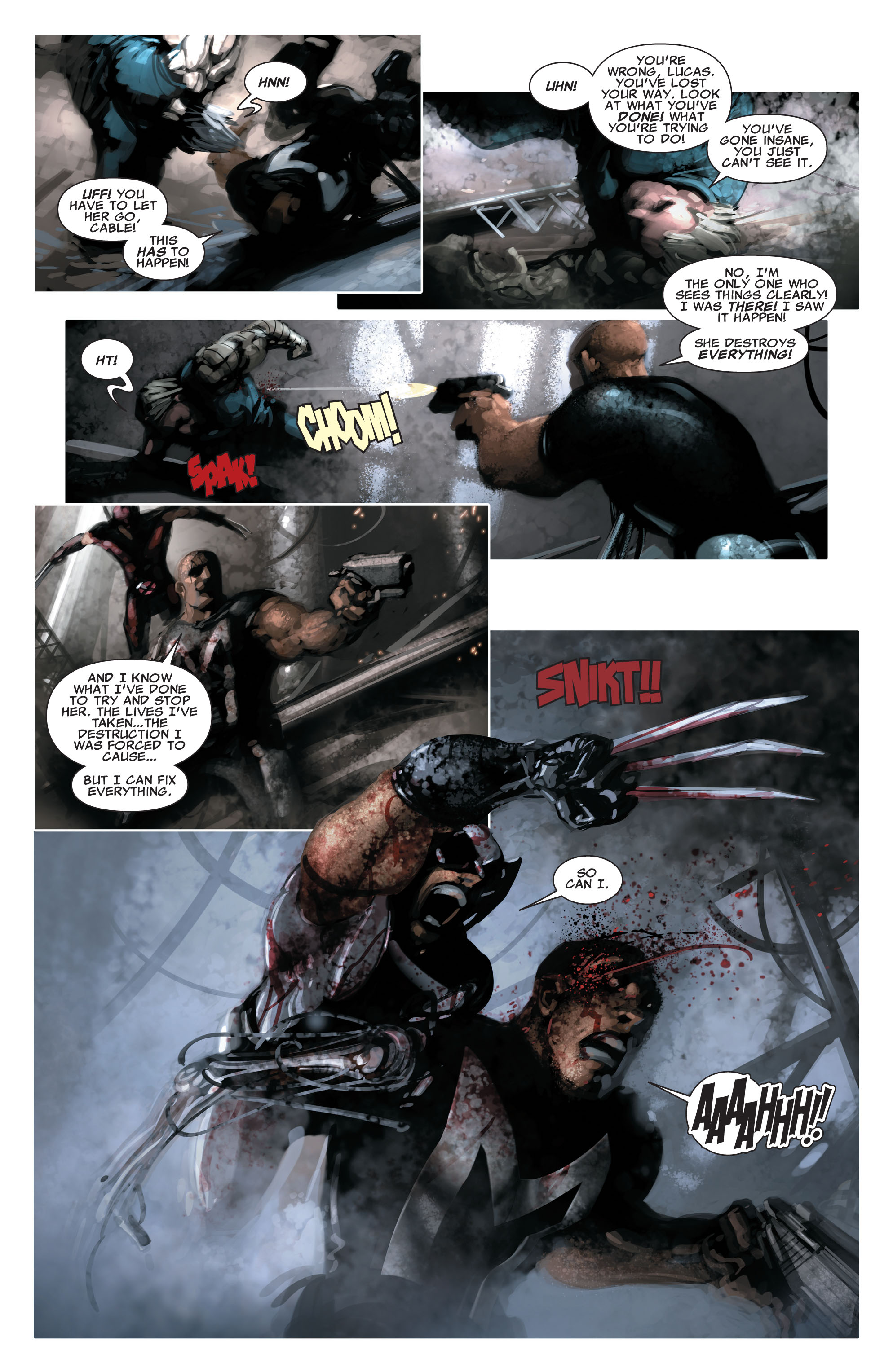 Read online X-Force (2008) comic -  Issue #16 - 13