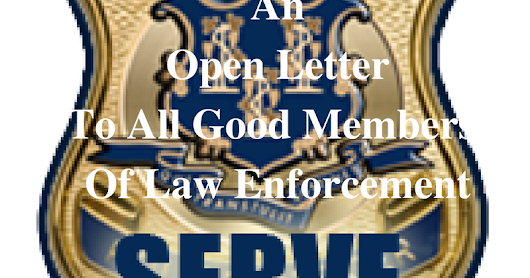 An Open Letter To All Good Police Officers