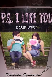 """#145 Recenzja książki """"PS: I Like You"""" Kasie West"""
