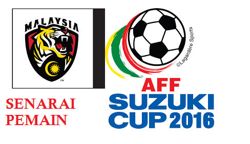 Pemain Harimau Malaysia AFF Suzuki cup 2016