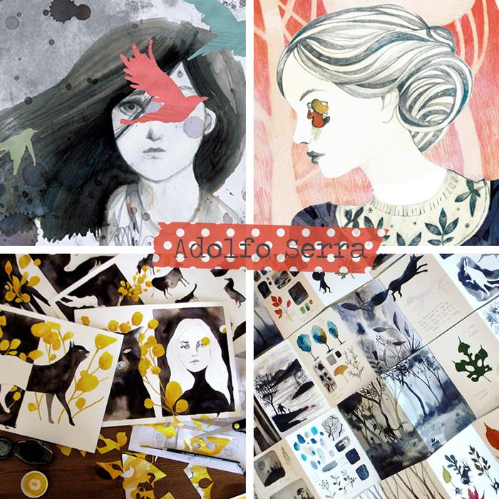 artist, illustrator, childrens books, illustrated books, painter, watercolor, art, artista, ilustrador, libros ilustrados, collage