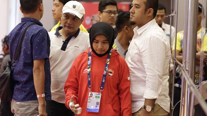 Detik-detik Haru Diskualifikasi Atlet Judo Aceh karena Tolak Lepas Jilbab