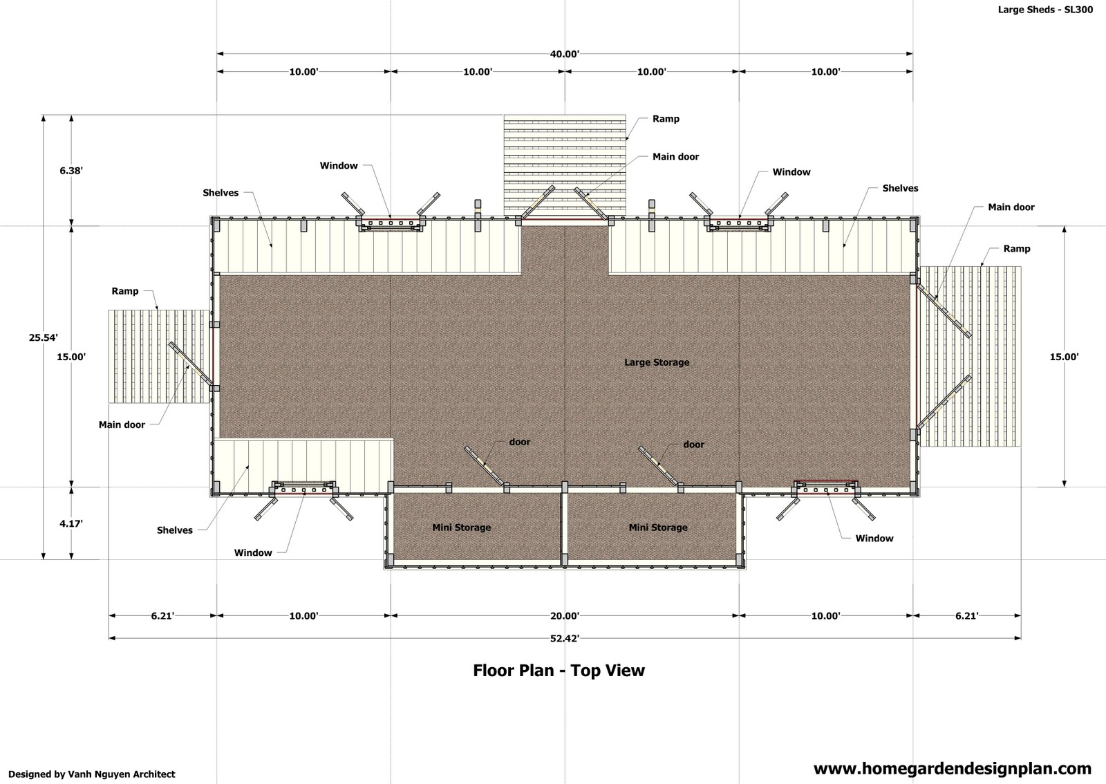 home garden plans SL300 Storage Sheds Plans Garden Shed Plans – Garden Shed Plan