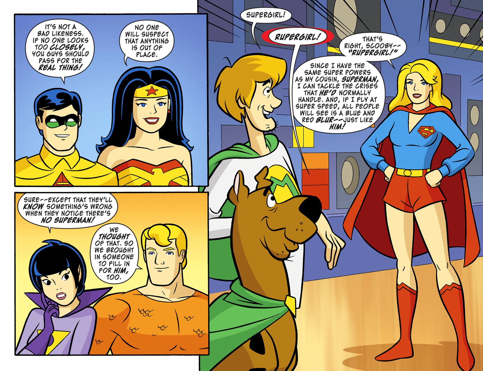 Read online Scooby-Doo! Team-Up comic -  Issue #11 - 10