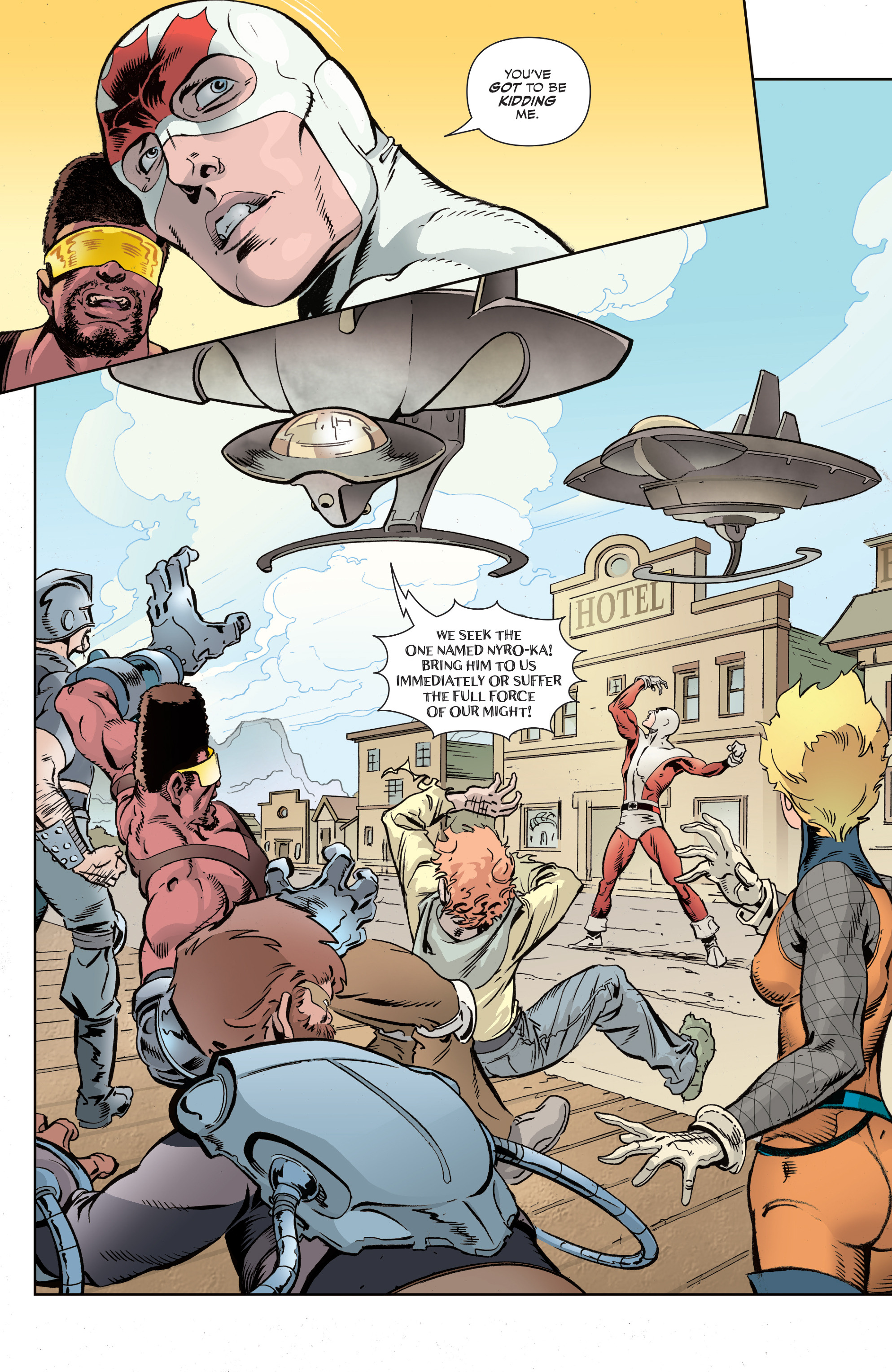 Read online All-New Classic Captain Canuck comic -  Issue #2 - 13