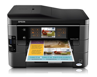 Download Epson Workforce 845 Printer Driver Support For All OS