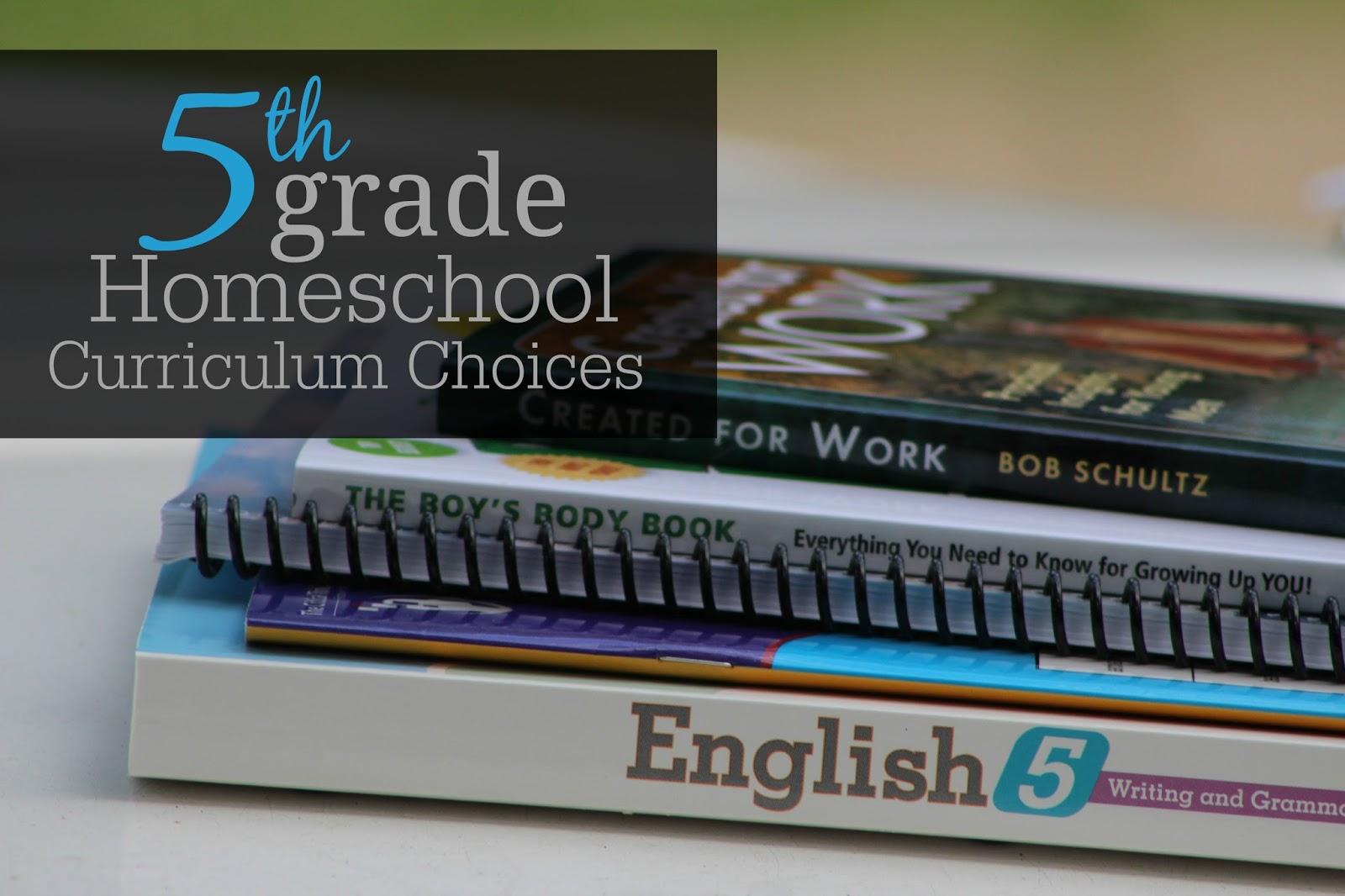 was on your homeschool curriculum list last year?