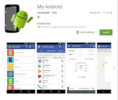 My Android app