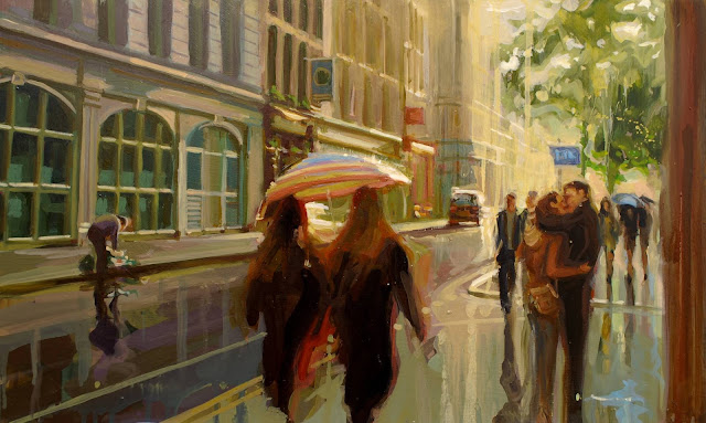 Johnny Morant (b. 1982), Figurative Painter