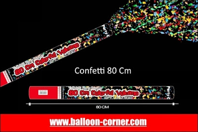 Party Popper / Confetti Ukuran 80 Cm