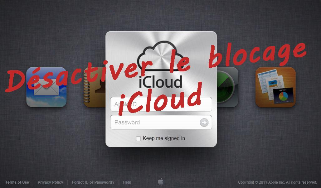 Vendre Iphone  Bloque Icloud
