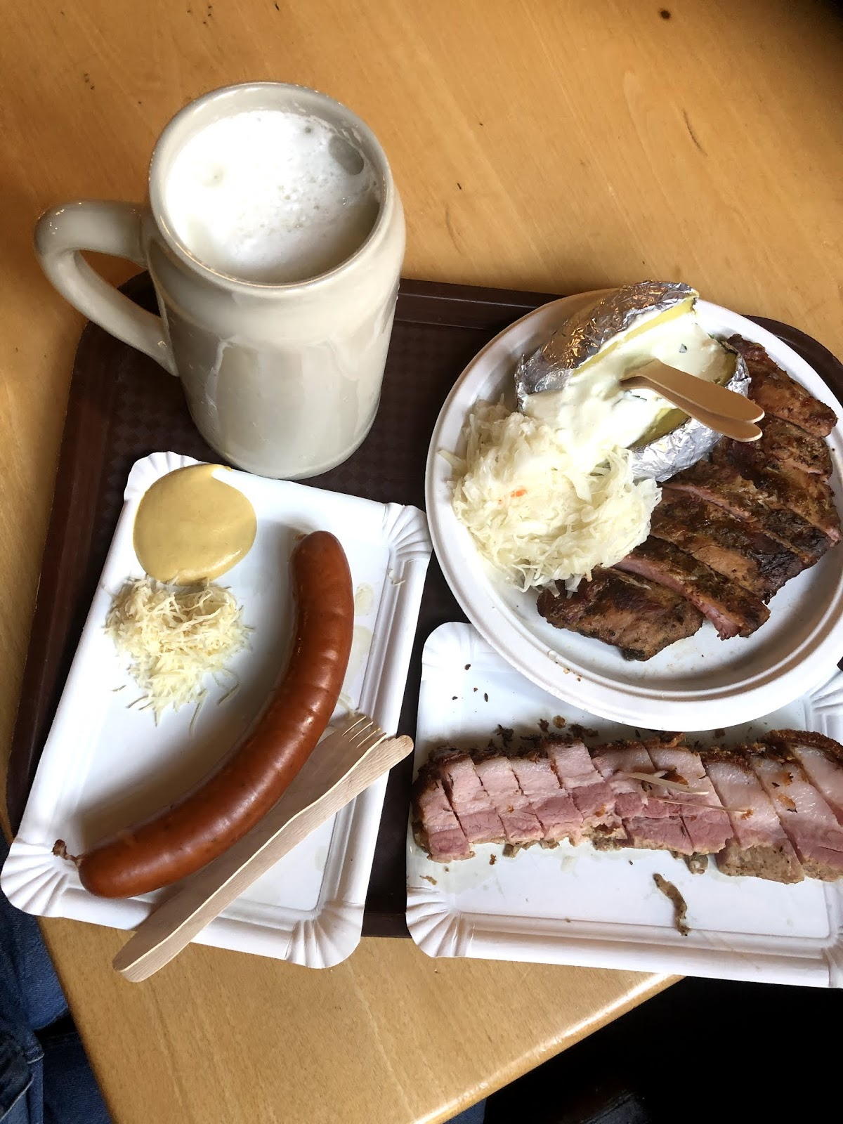 Salzburg Itinerary Augustiner-Bräu Beer Hall Salzburg itinerary Food to eat  salzburg beer